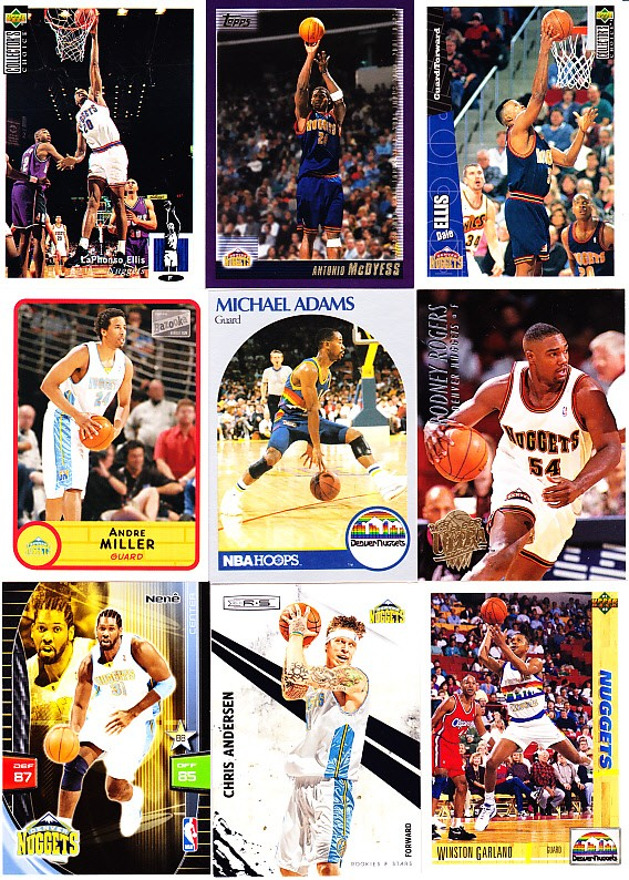 Panini NBA adrenalyn xl-Chris Anderson-Denver