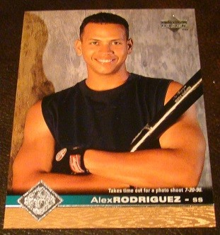 Ebluejay Alex Rodriguez 1997 Upper Deck Baseball Card
