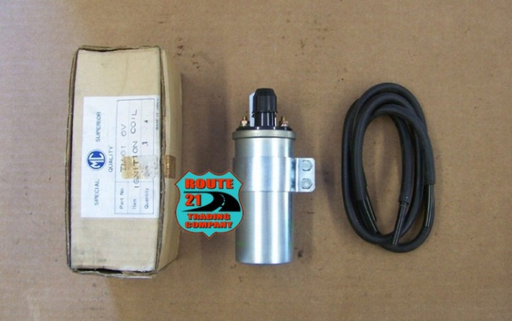 eBlueJay: High performance round dual fire ignition coil 6