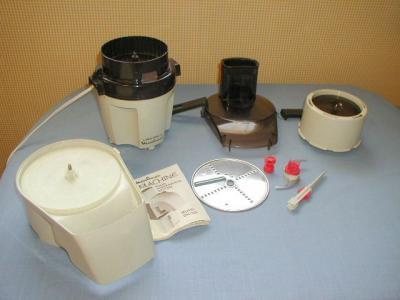 Vitamix Food Processor Setting