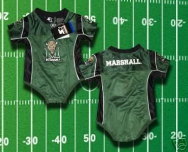 separation shoes 71b4b ac062 eBlueJay: WE ARE MARSHALL FOOTBALL Randy Moss Jersey BABY ...