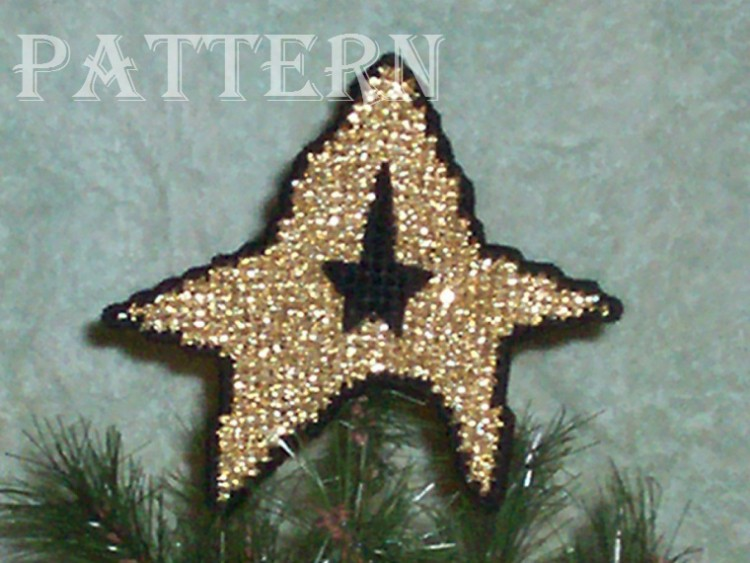 eBlueJay: Needlepoint Plastic Canvas Small Star Trek Christmas ...