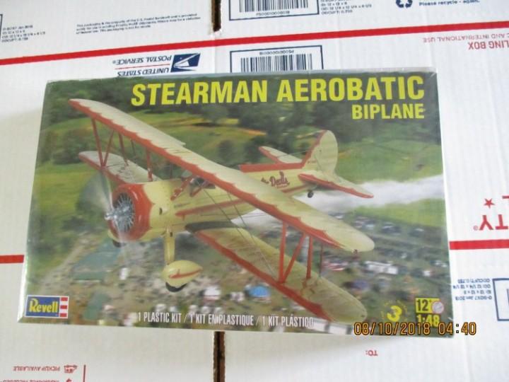 eBlueJay: Revell Stearman Aerobatic Biplane 1/48 scale Kit