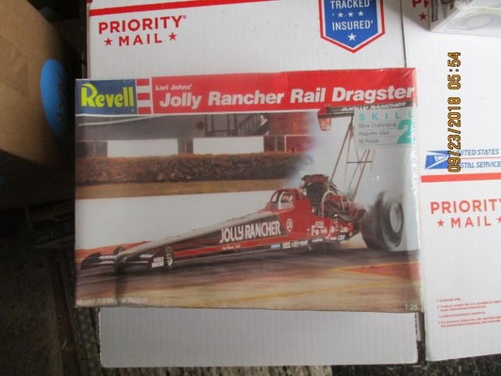 eBlueJay: Revell Lori Johns' Jolly Rancher Rail Dragster 1