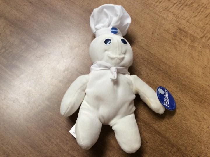 1997 Pillsbury Dough Boy Plush Beanie Doll Collectible with Tag NEW