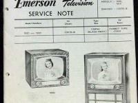 eBlueJay: Crosley Model 10-401 Tv Television Receiver Sams Photofact