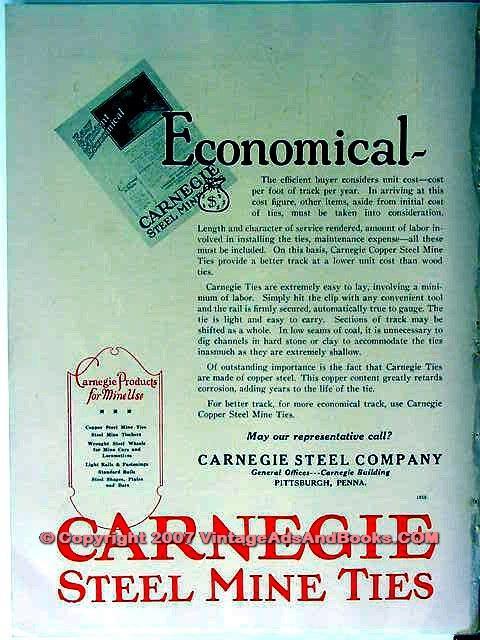 eBlueJay: Carnegie Steel Company 1928 Economical Coal Mine