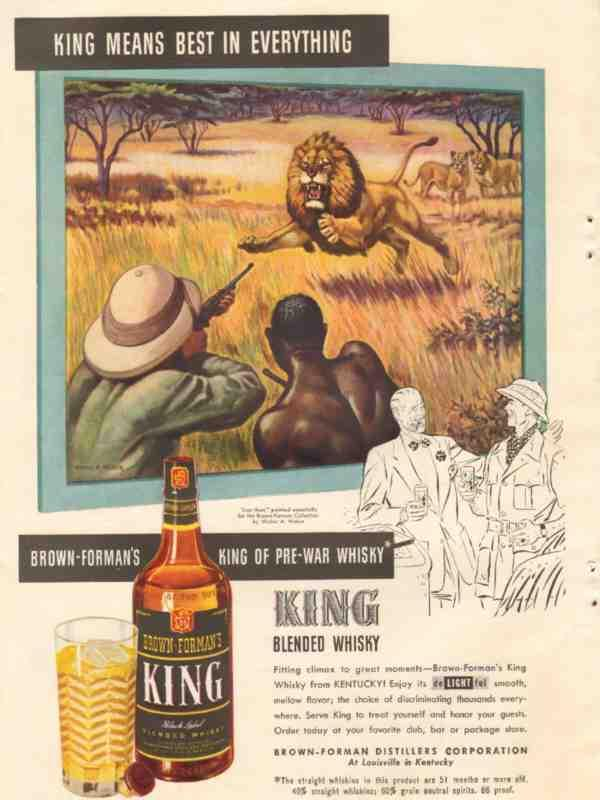 eBlueJay: Brown-Forman Distillers Company 1946 King Means