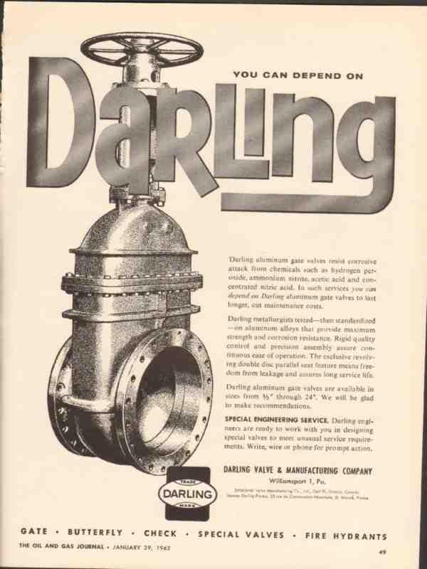 eBlueJay: darling valve mfg company 1962 depend aluminum gate ...