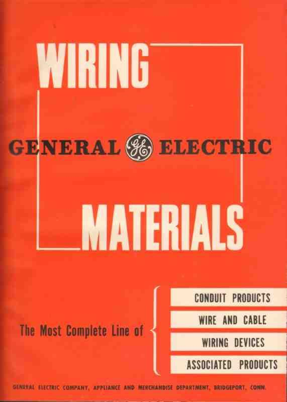 Pleasing Ebluejay General Electric 1944 Wiring Materials Conduit Boxes Wiring Cloud Xeiraioscosaoduqqnet