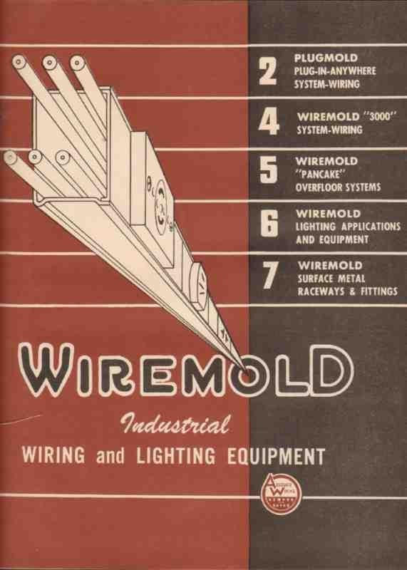eBlueJay: wiremold company 1944 plugmold surface raceway fitting ...