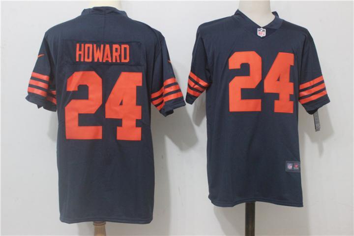 521f034c063 Jordan Howard #24 Chicago Bears Men's Color Rush Football Player Jersey