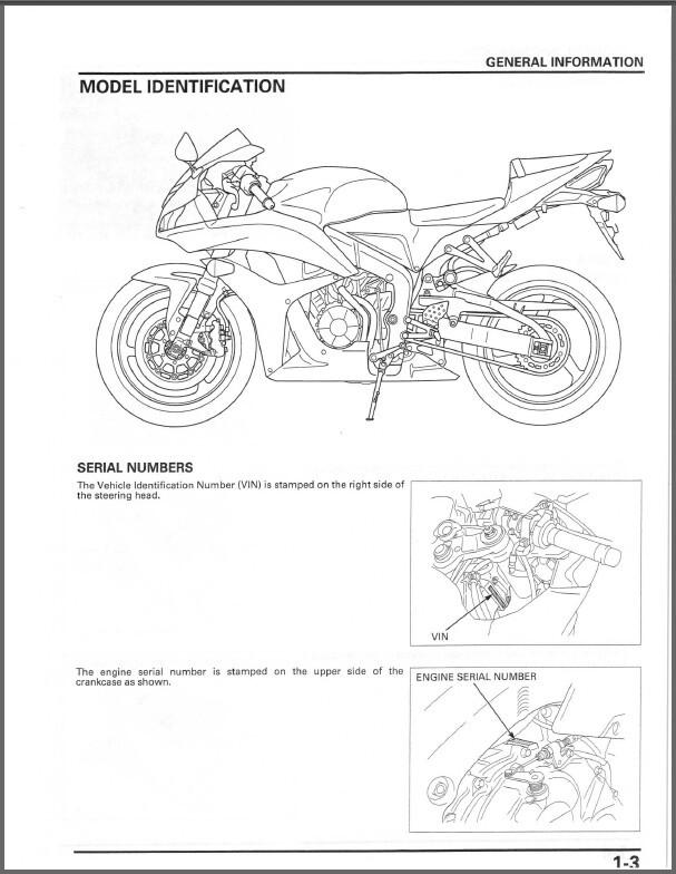 Ebluejay 2007 2008 Honda Cbr600rr Service Repair Manual Cd