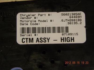 On Hold Dodge Durango Dakota Central Timing Module Ctm 56021385ae